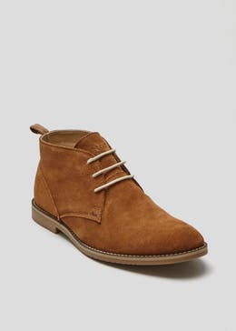 Real Suede Desert Boot