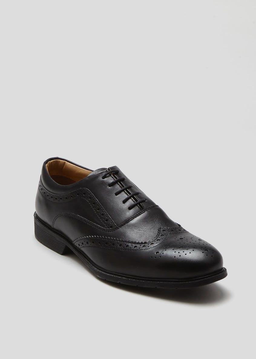 Soleflex Real Leather Brogues