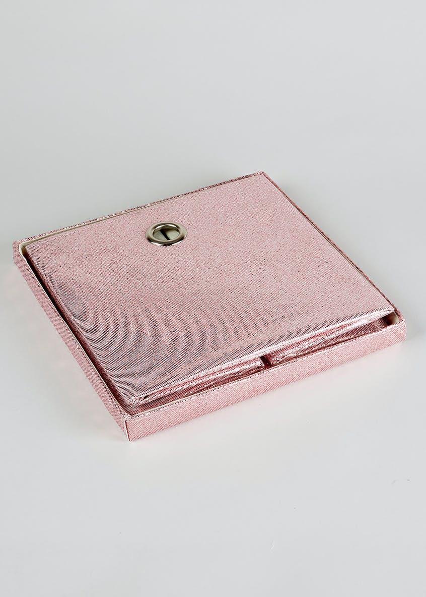 Glitter Collapsible Storage Box (33cm x 33cm x 31cm)