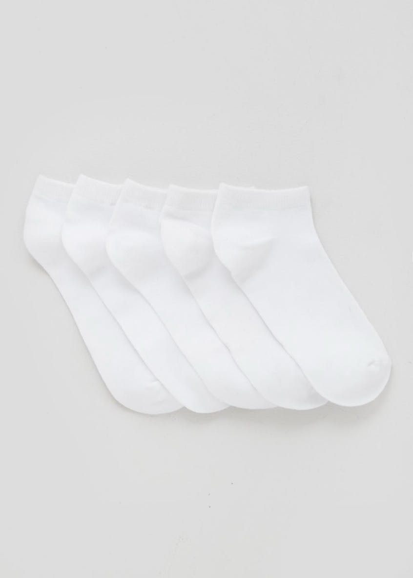 5 Pack Bamboo Soft Touch Trainer Socks