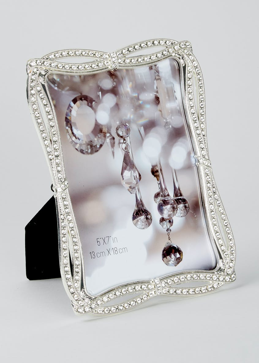 Diamante Photo Frame (19cm x 14cm)