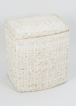 Wicker Laundry Basket (51cm x 44cm x 30cm)