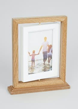 2 Aperture Rotating Photo Frame (24cm x 20cm)