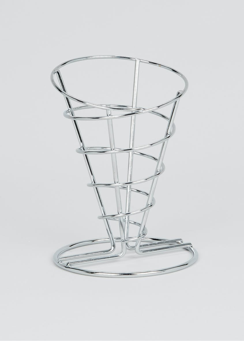 Metal Chip Cone Stand (16cm)