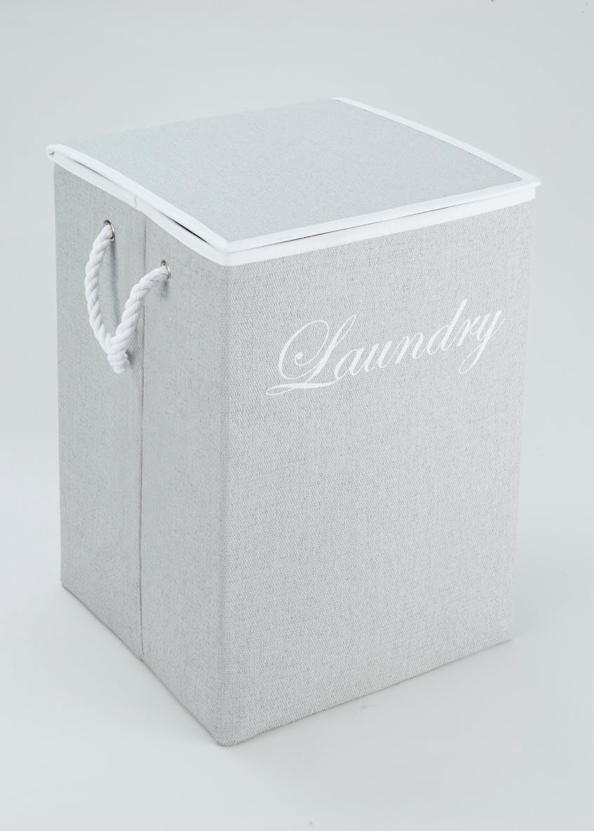 Collapsible Laundry Bin (53cm x 35cm x 35cm)