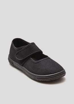 Girls Ballet Plimsolls (Younger 7-Older 2)