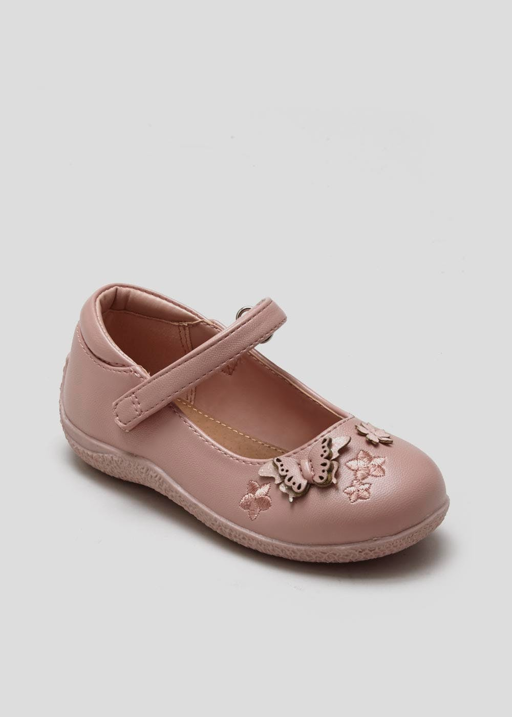 Girls Butterfly Ballet Shoes (Younger