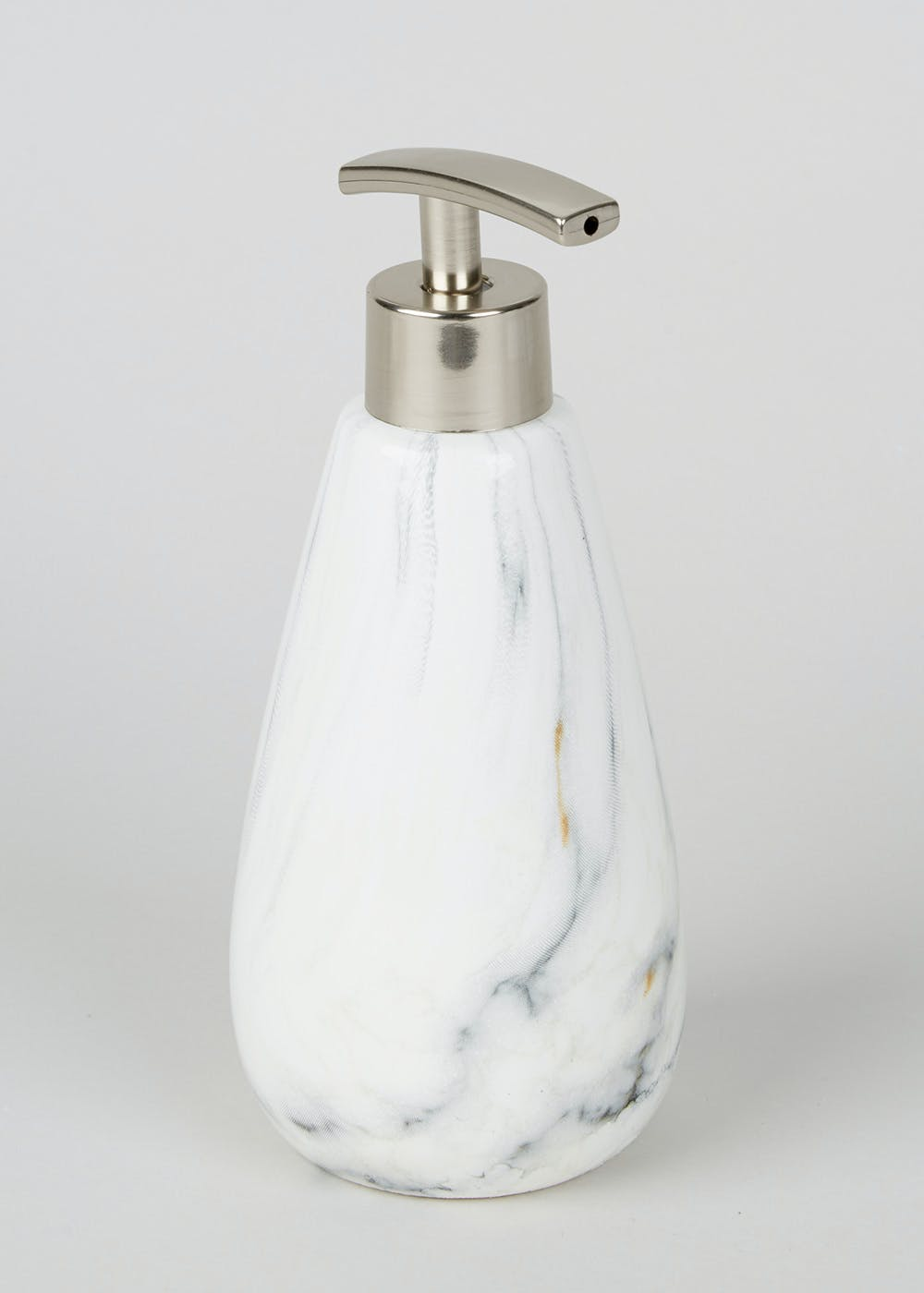 marble effect soap dispenser (cm x cm). marble effect soap dispenser (cm x cm) – matalan