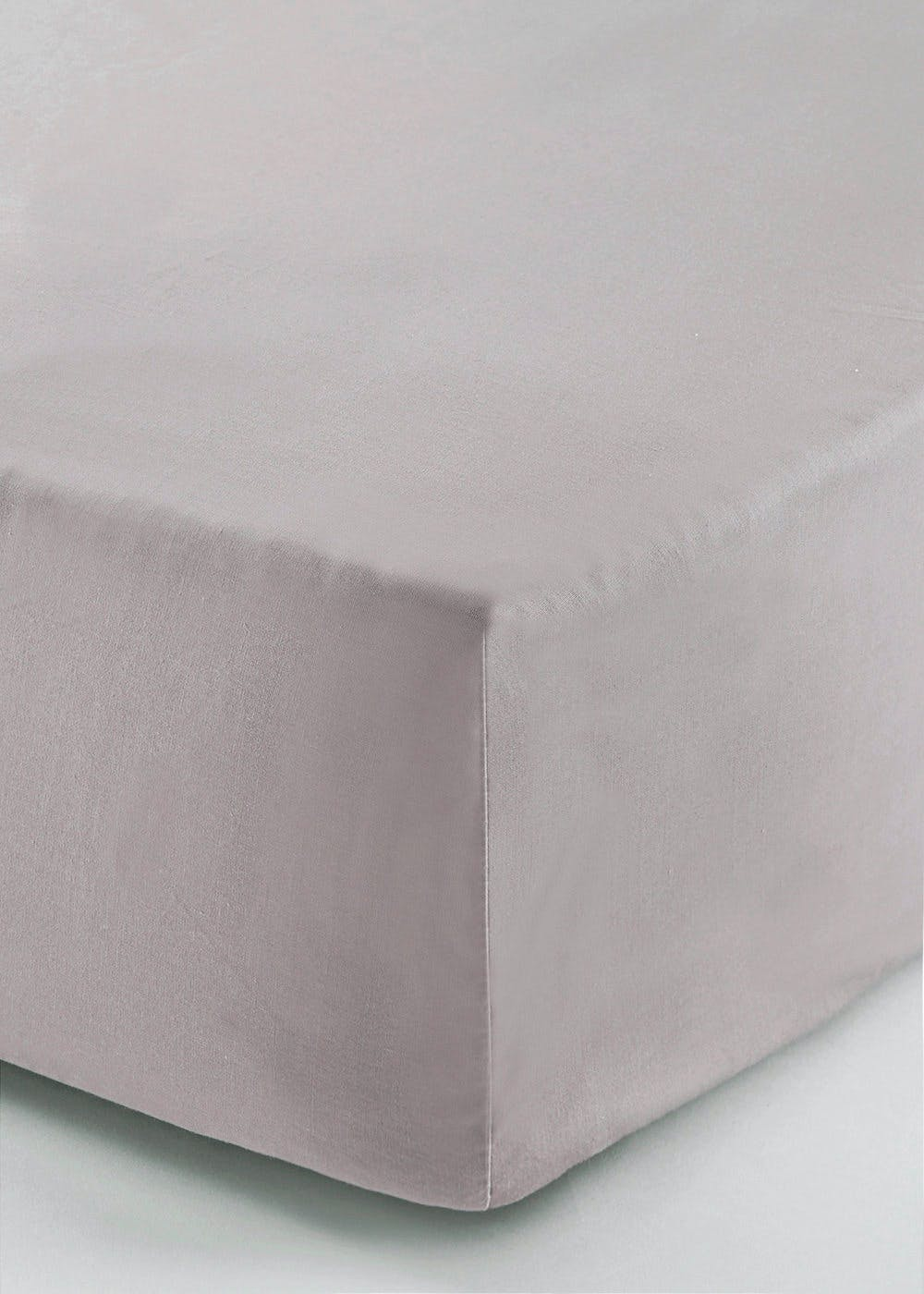100% Cotton Percale Deep Fitted Bed Sheet (200 Thread Count)