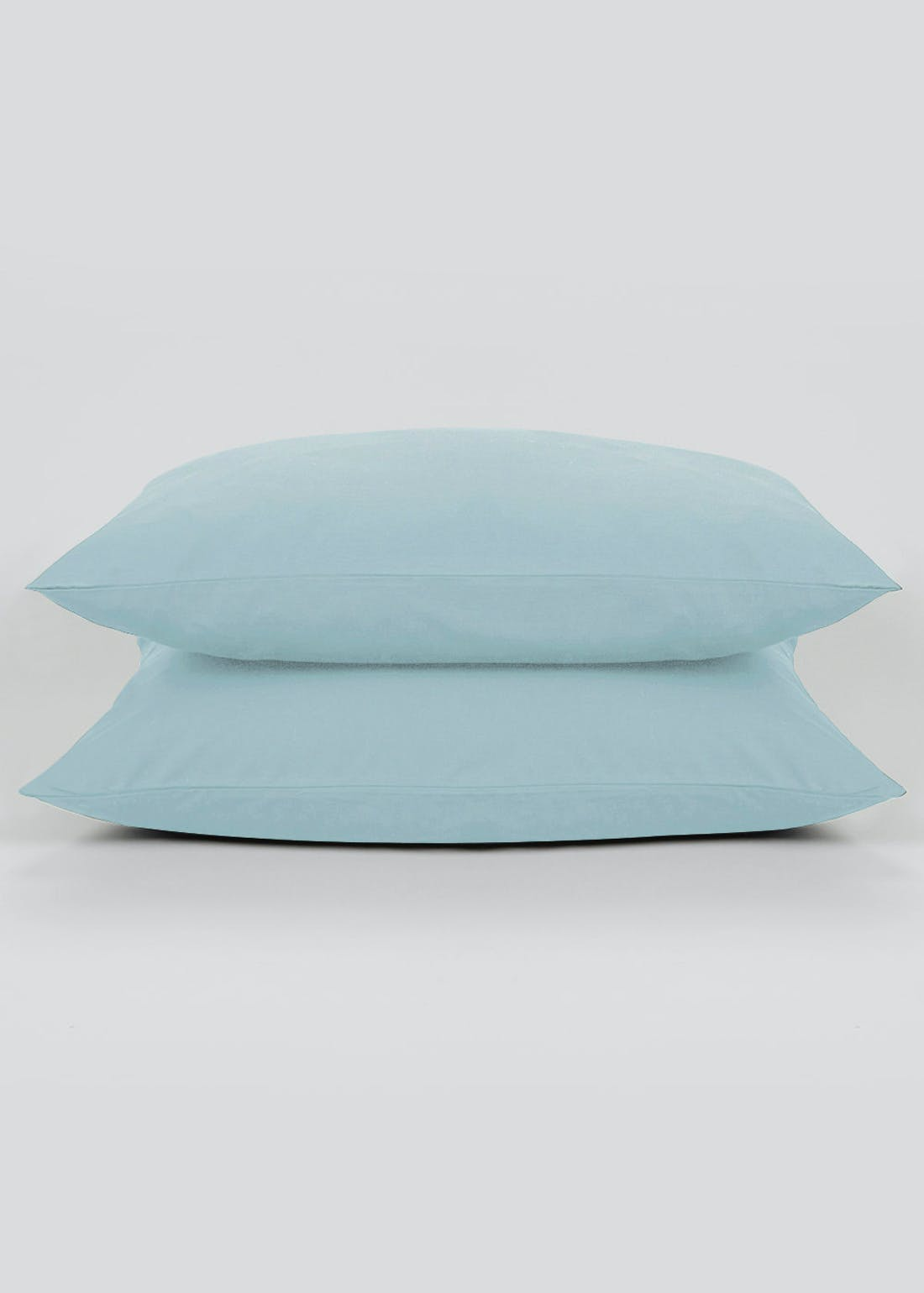 100% Cotton Percale Housewife Pillowcase Pair (200 Thread Count)