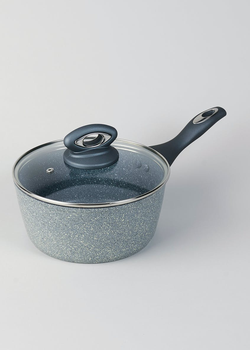 Salter Marble Collection 20cm Saucepan (RRP £35)