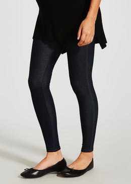 Denim Stretch Leggings