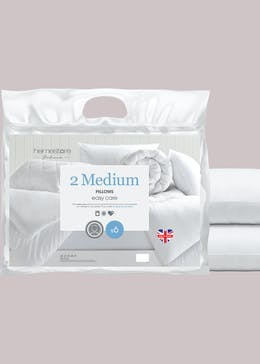 Easycare Medium Pillow Pair