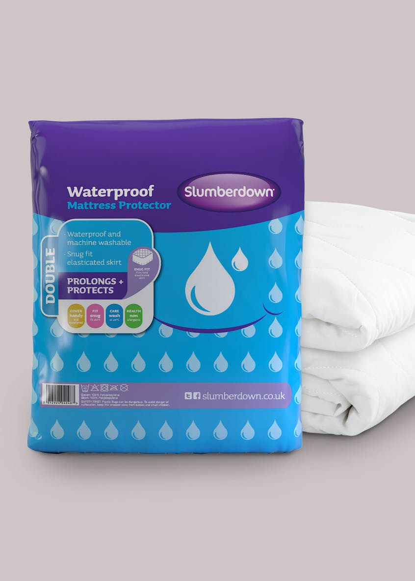 Slumberdown Waterproof Mattress Protector