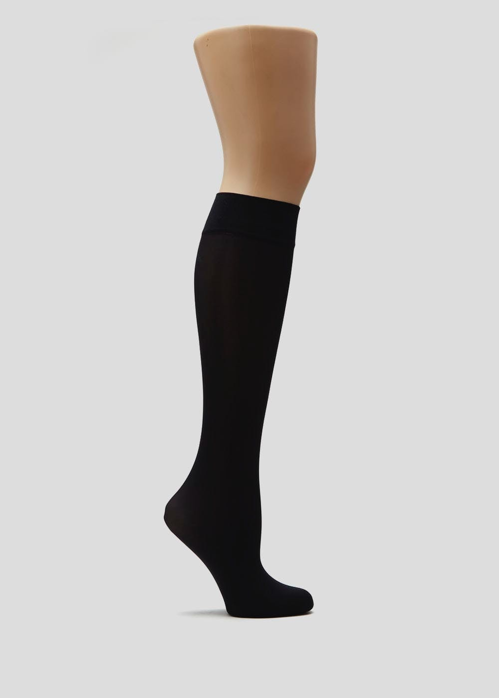 3af57b198 2 Pack 40 Denier Opaque Knee Highs – Black – Matalan